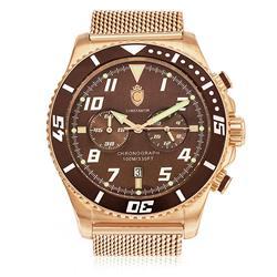 Relógio Constantim Rose Brown ZW30214R Pulseira Esteira