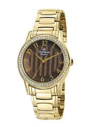 Relógio Feminino Champion Passion Analógico CH24740R Fundo Marrom