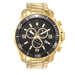 Relógio Constantim Chronograph Gold Black ZW30287U Dourado