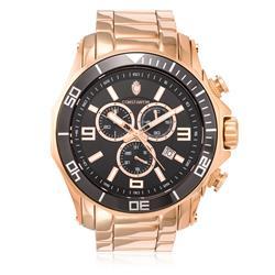 Relógio Constantim Chronograph Rose Black ZW30287P Aço Rose 50116