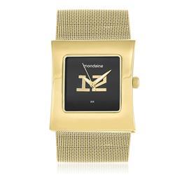 Relógio Feminino Mondaine Analógico 76057LPMEDE2 Fundo Preto