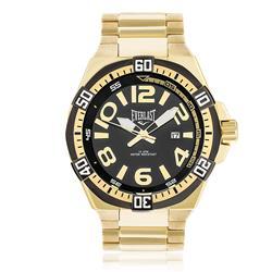 Relógio Masculino Everlast Analógico E632 Fundo Preto