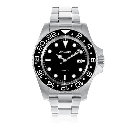 Relógio Masculino Magnum MA32934T Aço