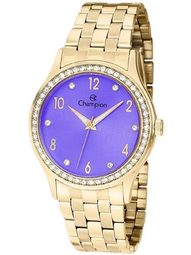Relógio Feminino Champion Analógico CN28982D Fundo Lilás