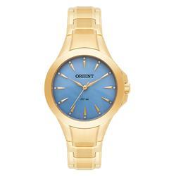 Relógio Feminino Orient Analógico FGSS0084 A1KX Madrepérola Azul