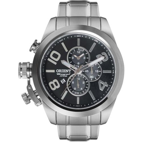 Relógio Masculino Orient Chronograph Analógico MBSSC130 P2SX Aço