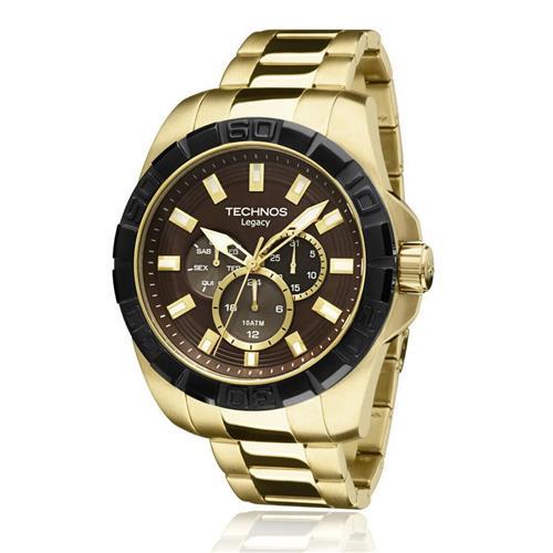 Relógio Masculino Technos Legacy Analógico 6P29AIO/4M Dourado