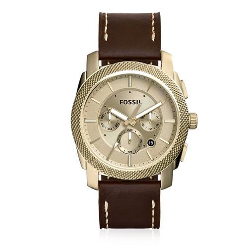 Relógio Masculino Fossil Analógico FS5075/0DN Couro