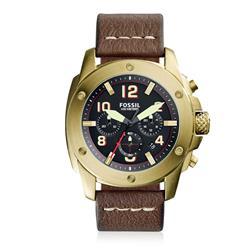 Relógio Masculino Fossil Analógico FS5065/2MN Couro
