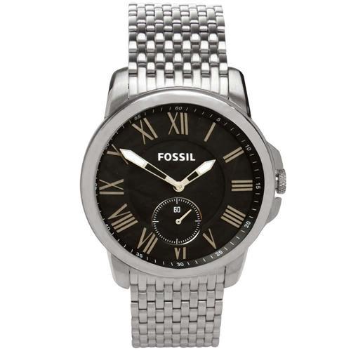Relógio Masculino Fossil Analógico FS4944/1PN Fundo Preto