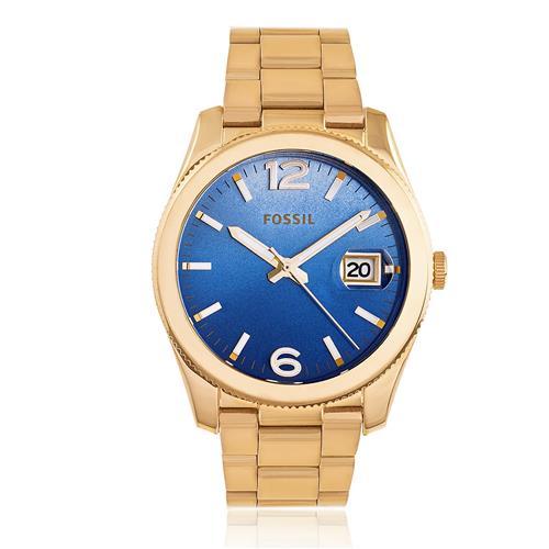 Relógio Feminino Fossil Analógico ES3780/4AN Fundo Azul