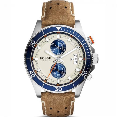 Relógio Masculino Fossil Analógico CH2951/0XN Couro