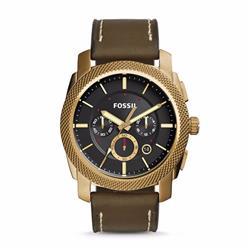 Relógio Masculino Fossil Analógico FS5064/2VN Couro