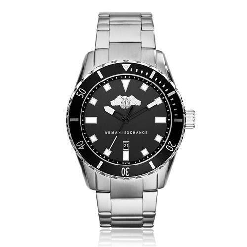 Relógio Masculino Armani Exchange Analógico AX1709/0PN Fundo Preto