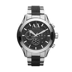 Relógio Masculino Armani Exchange Analógico UAX1214/Z Fundo Preto