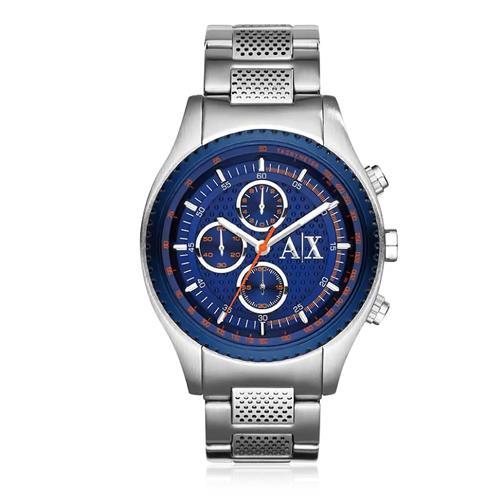 Relógio Masculino Armani Exchange Analógico AX1607/1AN Fundo Azul