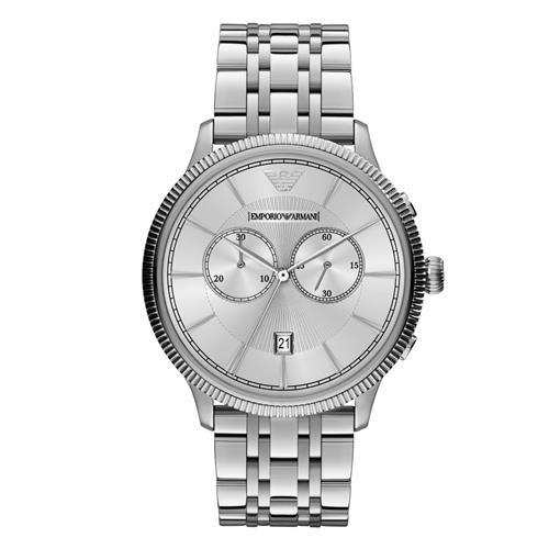 Relógio Masculino Emporio Armani Analógico AR1796/1KN Aço