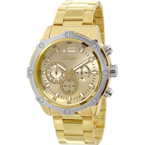 Relógio Masculino Condor Civic Analógico COVD54AE/4X Dourado