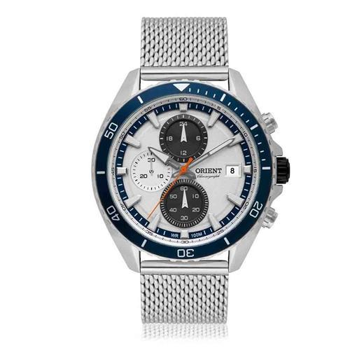 Relógio Masculino Orient Analógico MBSSC179 S1SX Aço