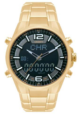 Relógio Masculino Orient ANADIGI MGSSA002 P2KX Dourado