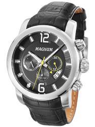 Relógio Masculino Magnum Analógico MA34290T Couro