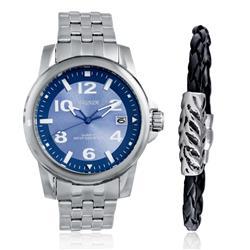 Relógio Masculino Magnum Analógico MA33022O Kit com Pulseira