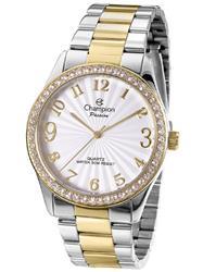 Relógio Feminino Champion Analógico CN29472S Aço Misto