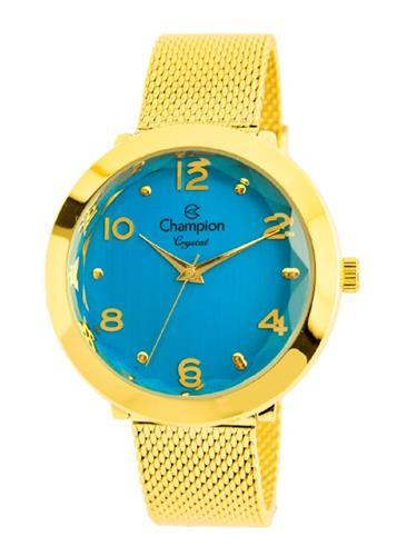 Relógio Feminino Champion Analógico CN25207F Fundo Azul