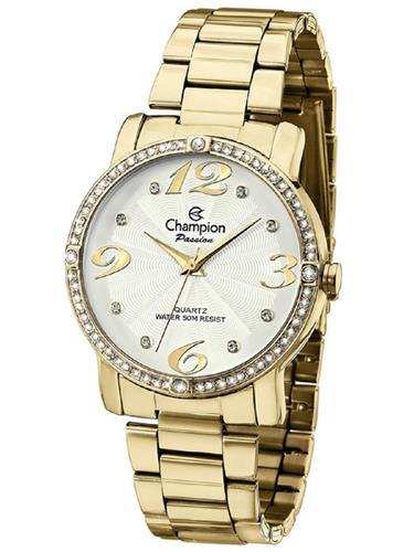 Relógio Feminino Champion Analógico CH24768H Dourado