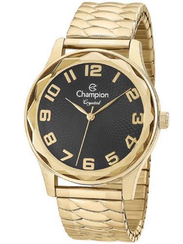Relógio Feminino Champion Analógico CN27885U Fundo Preto