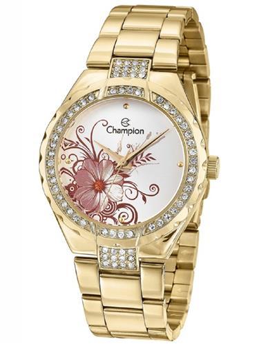 Relógio Feminino Champion Analógico CN29543H Dourado