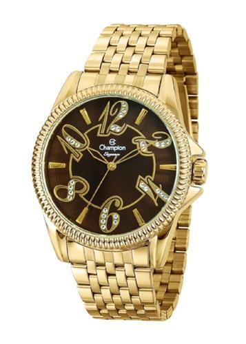 Relógio Feminino Champion Analógico CN27358R Dourado