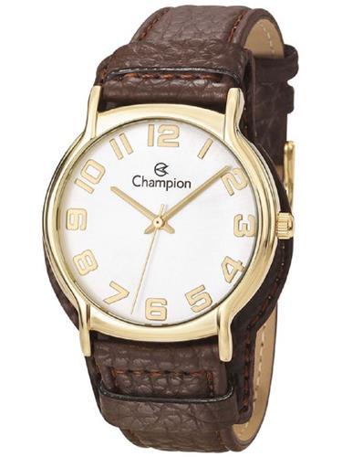 Relógio Feminino Champion Analógico CN20177S Couro