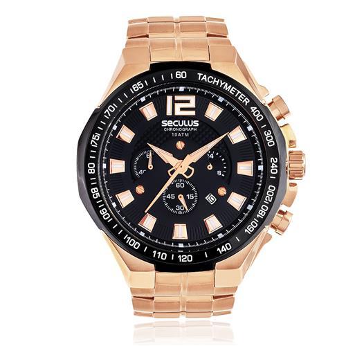 Relógio Masculino Seculus Chronograph 20312GPSVRA4 Rose
