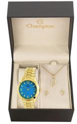Relógio Feminino Champion Passion CN25216Y  Kit Colar e Par de Brincos