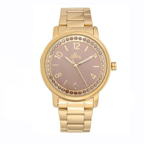 Relógio Feminino Allora Analógico AL2035FHZ/4M  Dourado