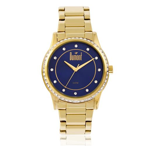 Relógio Feminino Dumont Splendore Ref DU2035LQC/4A dourado