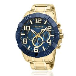 Relógio Masculino Technos Classic Legacy OS20IQ/4A Dourado