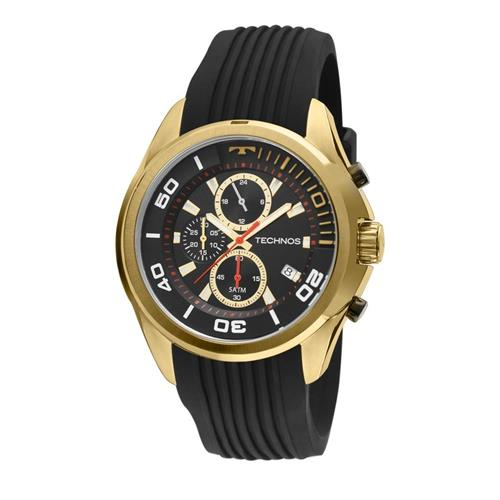 Relógio Masculino  Masculino Technos Ref JS15BJ/8P Preto
