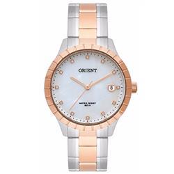 Relógio Feminino Orient Swarovski Ref FTSS115 B1SR Misto
