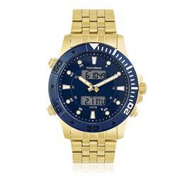 Relógio Masculino Mondaine Chronograph 99082GPMVLA1 Dourado
