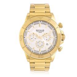 Relógio  Masculino Seculus Chronograph Ref 28798GPSVDA5 Dourado
