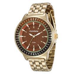 Relógio Masculino Mondaine 76624LPMVDE5 Dourado
