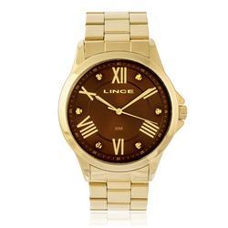 Relógio  Feminino Lince LRGJ046L N3KX Dourado