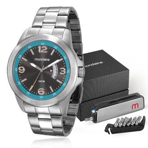 Relógio Masculino mondaine analógico 78700G0MVNA1K1 Aço