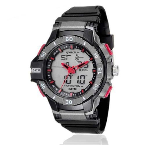 Relógio Masculino Speedo Esportivo digital 81167G0EVNP1 Borracha