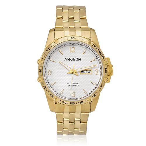 Relógio Masculino Magnum Automatic 21 Jewels Automático MA33853H