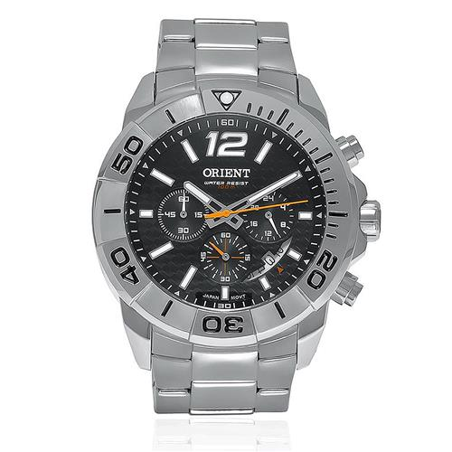 Relógio Masculino Orient Sport Analógico MBSSC025 P2SX Fibra de Carbono