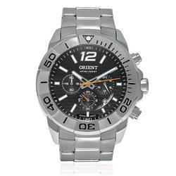 Relógio Masculino Orient Sport Analógico MBSSC025 P2SX em aço mostrador em fibra de carbono