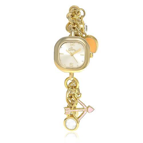 Relógio Feminino Allora Berloqueira Analógico AL2035EXR/4X Dourado